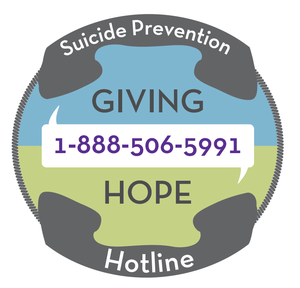 Suicide Prevention Hotline giving hope 1-888-506-5991